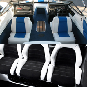All Kinds Of Boat Upholstery Service We Specialize In Custom Covers Enclosures Bimini Tops Carpeting